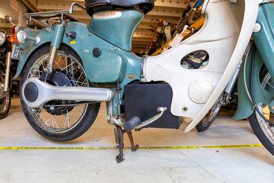 Electric conversion kit, Honda C50